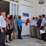 Công đoàn CSVN tặng nhà Mái ấm Công đoàn tại gỗ Đông Hòa