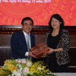 Phó Chủ tịch nước Đặng Thị Ngọc Thịnh biểu dương Cao su Đồng Nai