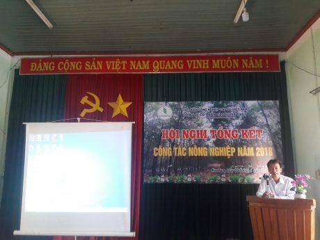 Ông Đỗ Thanh Nam _ BT Đảng ủy, TGĐ Công ty phát biểu chỉ đạo Hội nghị