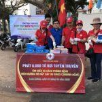 Đoàn Thanh niên Cao su Đồng Nai phát 6.000 khẩu trang cho người dân