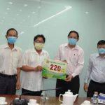 Hỗ trợ 220 triệu đồng cho các đơn vị tại Lào, Campuchia chống dịch Covid -19