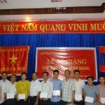 50 CBCNV Cao su Việt Lào tham gia lớp cảm tình Đảng