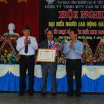Cao su Chư Prông đóng góp lớn cho địa phương