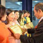110 nữ ngành cao su được tuyên dương