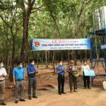 Đoàn Thanh niên Cao su Bình Long bàn giao công trình nước sạch