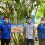 Chi đoàn Gỗ Dầu Tiếng: Trao tặng 4 bồn nước rửa tay