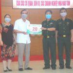 Công đoàn Cao su VN: Hỗ trợ 20 triệu đồng cho Đồn biên phòng cửa khẩu Lệ Thanh