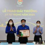 Trần Trung Tính - giải thưởng Lý Tự Trọng năm 2020
