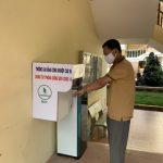 Trường Cao đẳng Công nghiệp Cao su: Làm máy rửa tay tự động phòng chống Covid -19