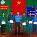 Tỉnh đoàn Gia Lai tặng 25 suất quà cho thanh niên Cao su Chư Sê