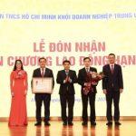 Đoàn Khối Doanh nghiệp TW đón nhận Huân chương Lao động hạng Nhì