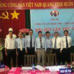 Đ/c Nguyễn Văn Cường giữ chức Bí thư Chi bộ VRG Bảo Lộc