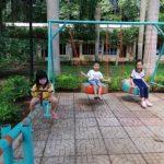Xây khu vui chơi bằng vật liệu tái chế cho trẻ em