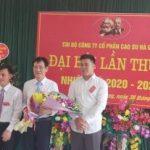 Đồng chí Đỗ Anh Minh đắc cử Bí thư Chi bộ Cao su Hà Giang