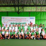 Giao lưu quần vợt kỷ niệm 45 năm thành lập Cao su Dầu Tiếng