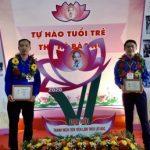 Hai Đoàn viên Cao su Phú Riềng dự Đại hội Thanh niên làm theo lời Bác