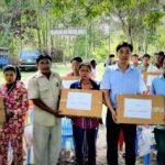 Cao su C.R.C.K: Tặng quà người dân Campuchia