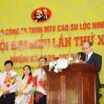 Đại hội Đảng bộ Cao su Lộc Ninh