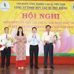 Cao su Phú Riềng: Năng suất vườn cây bình quân 2,28 tấn/ha trong 5 năm