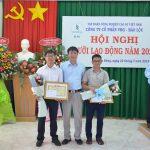 Thủy điện VRG - Bảo Lộc: Thu nhập bình quân 21 triệu đồng/người/tháng