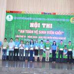 Cao su Phú Riềng giải nhất thi An toàn vệ sinh viên giỏi