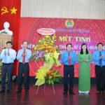 Mít tinh kỷ niệm 91 năm thành lập Công đoàn Việt Nam
