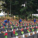 Tuổi trẻ Cao su Phú Riềng: Nhiều hoạt động tri ân các anh hùng liệt sỹ