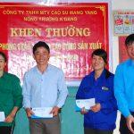 Cao su Mang Yang: Khen thưởng 37 tập thể và cá nhân vượt sản lượng