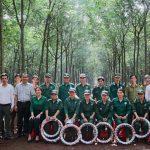 Cao su Lộc Ninh tặng quà 317 người lao động có thành tích xuất sắc