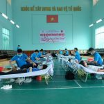 300 người lao động Cao su Phú Riềng hiến máu tình nguyện