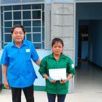Trao nhà Mái ấm Công đoàn cho công nhân Cao su Mang Yang