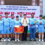 Khối thi đua sản xuất tỉnh Gia Lai giao lưu thể thao