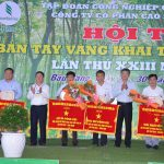 Nông trường Tân Hưng đạt giải nhất thi Bàn tay vàng Cao su Phước Hòa