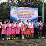 Cao su Chư Păh tổ chức bóng đá nữ mini truyền thống