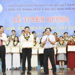 Cao su Phú Riềng tuyên dương học sinh, sinh viên