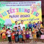 Cao su Quảng Nam tổ chức Trung thu cho trẻ em vùng cao