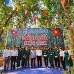 Nông trường Bachiang II giải nhất  thi thợ giỏi thu hoạch mủ Cao su Việt Lào