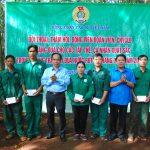 Công đoàn CSVN: Đối thoại và tặng quà người lao động các đơn vị Tây Nguyên