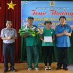 4 tổ Cao su Dầu Tiếng nhận khen thưởng thi đua nước rút