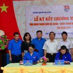 Đoàn Thanh niên Cao su Đồng Nai ký phối hợp với tỉnh Đoàn Hà Giang