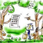 Oan cho cây cao su