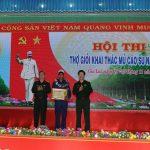 Rơ Mah Kiu giành Bàn tay vàng Hội thi thợ giỏi khai thác mủ Binh đoàn 15