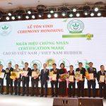 Tôn vinh 14 doanh nghiệp tại Hội nghị Quốc tế và Họp mặt Doanh nhân Cao su 2020