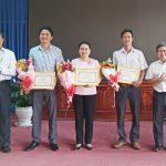 Cao su Dầu Tiếng khen thưởng cá nhân, tập thể xuất sắc trong Hội thi Bàn tay vàng 2020