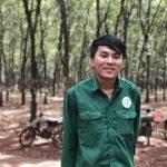 Anh Trịnh Văn Thông – Tổ 6, Nông trường 1, Cao su Phú Riềng: Dự kiến vượt sản lượng 3 tấn