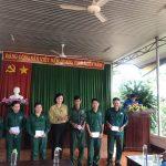 Cao su Lộc Ninh trao thưởng cho 102 công nhân về trước kế hoạch