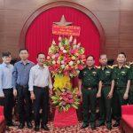 Lãnh đạo VRG thăm, tặng quà chúc mừng ngày thành lập Quân đội nhân dân Việt Nam