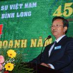 Kỷ niệm 45 năm thành lập Cao su Bình Long