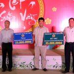 Cao su Lộc Ninh có nhiều hoạt động chăm lo Tết cho người lao động