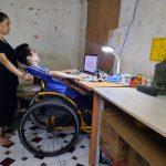 Ước mơ tìm được việc làm của chàng trai khuyết tật